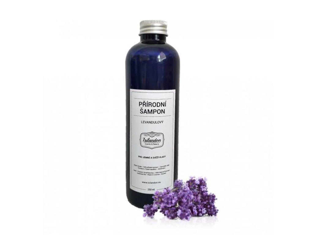 Levandulový přírodní vlasový šampon 250ml