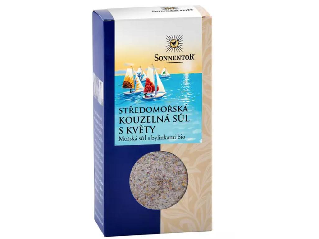 Středomořská kouzelná sůl s květy 120g