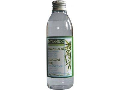 Konopný masážní olej regenerační  200ml