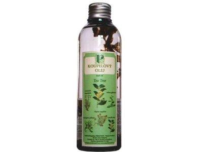 Koupelový olej tea tree s bylinou 200ml