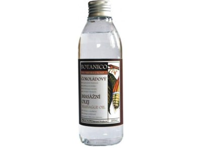 Čokoládový masážní olej s extraktem kakaa 200ml