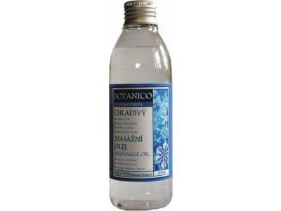 Chladivý masážní olej 200ml