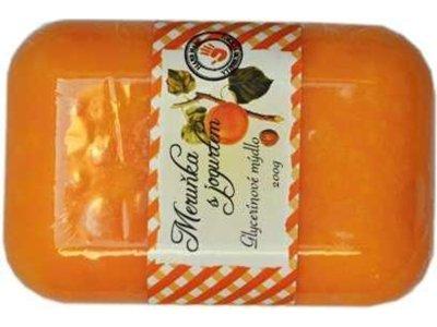 Glycerínové mýdlo meruňka 200g