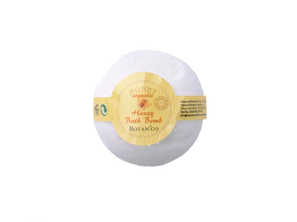 Koupelová koule medová 50g