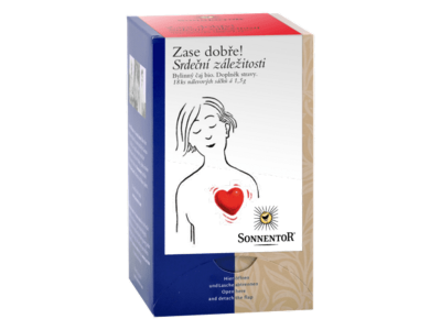 Čaj Srdeční záležitost BIO porcovaný 27g
