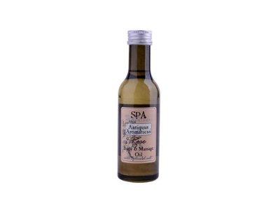 Masážní olej Růže 185ml