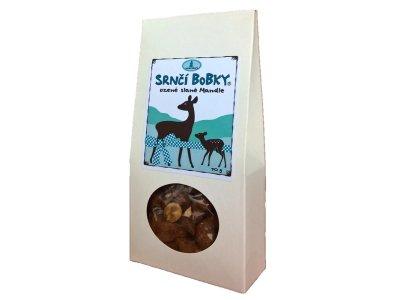 Srnčí bobky - Uzené slané mandle 70g