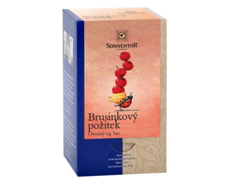 Čaj Brusinkový požitek BIO porcovaný 50,4g