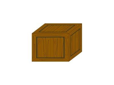 Dřevěná dárková krabička 5 - 8 kusů