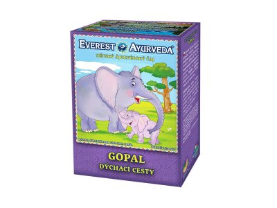 Čaj GOPAL - Pohodlné dýchání 100g