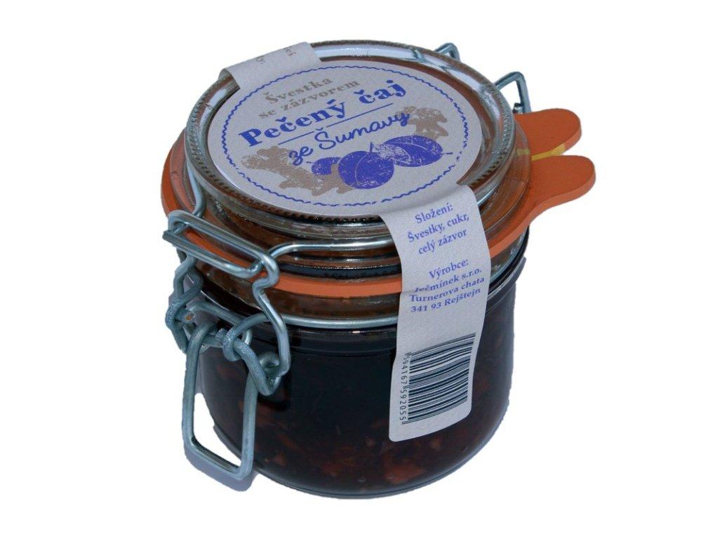 Pečený čaj ze Šumavy - Švestka se zázvorem 160g