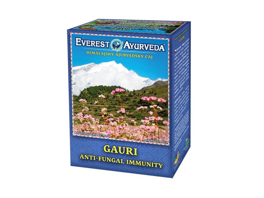 Čaj GAURI - kvasinky, plísně 100g