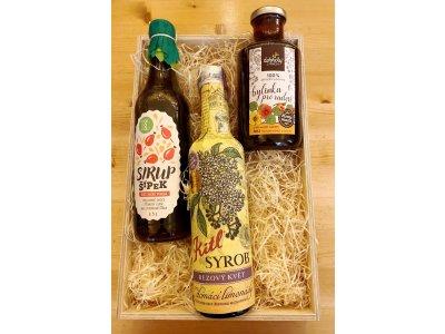 Dárková krabička pro výrobu limonád Bylinky