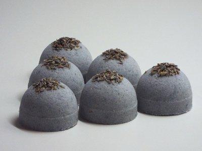 Šumivé bomby do koupele s levandulí