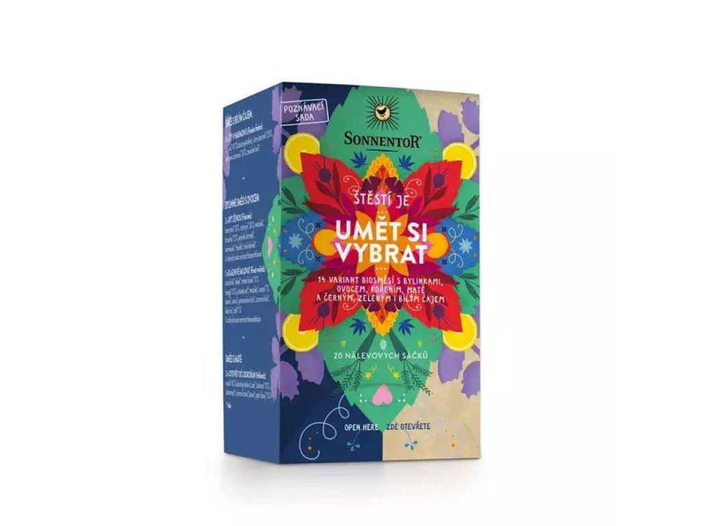 Bylinné a kořeněné čaje - Štěstí je umět si vybrat 32,1g